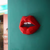 Red Lips Wall Art