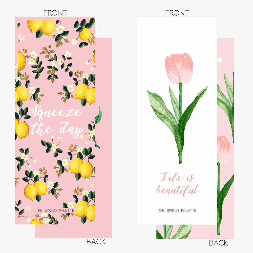 TSP Bookmark (Set of 10) - THE SPRING PALETTE