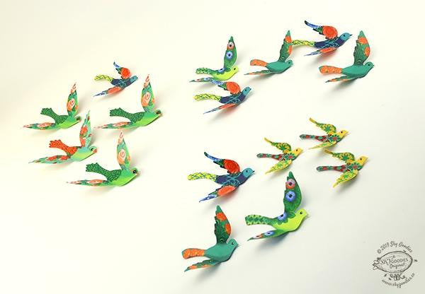 Birds gift decor (Set of 24)