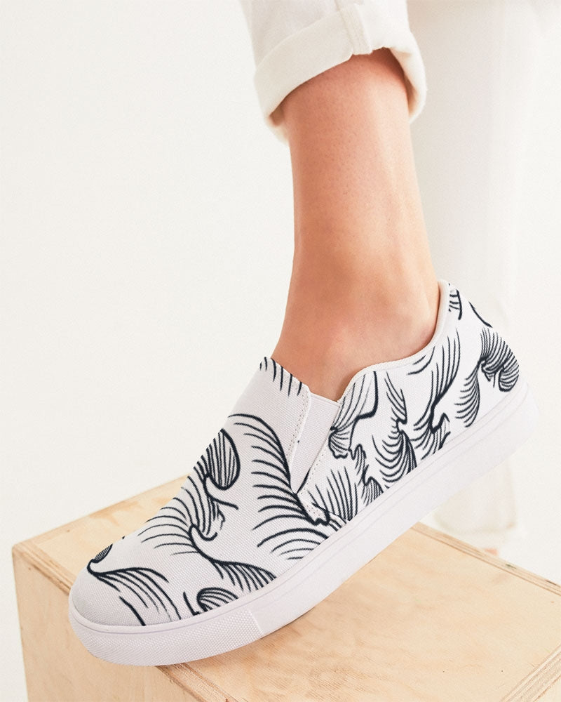 The Waves Women's Slip-On Canvas Shoe