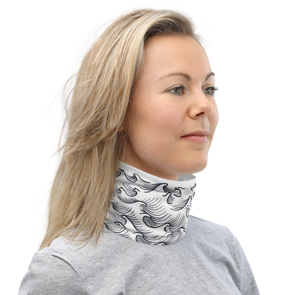 product image of Neck Gaiter with Waves