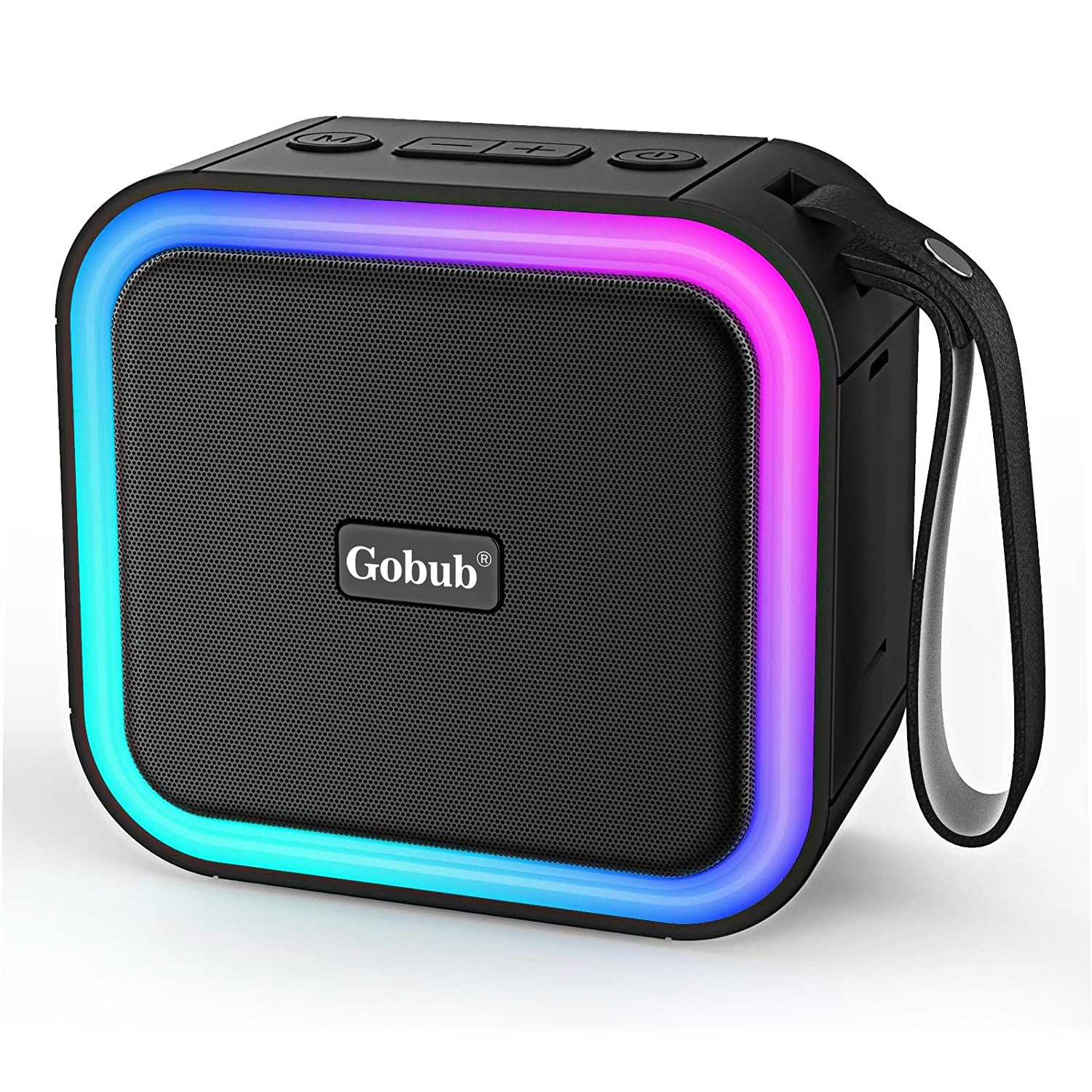 GOBUB Portable Bluetooth Speaker with Gradient Light