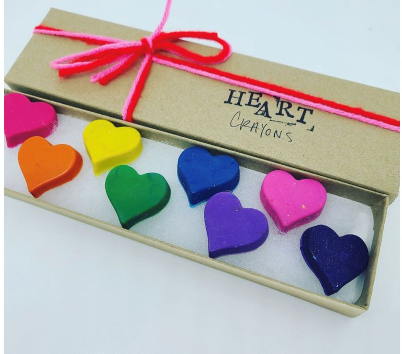 Assorted Crayon Boxes Carefree Highway Heart