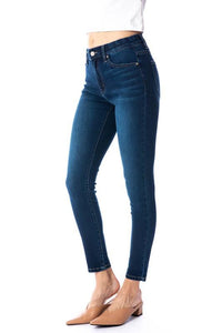 Basic Ankle Skinny Regular Wash SNAP-Something New And Pretty