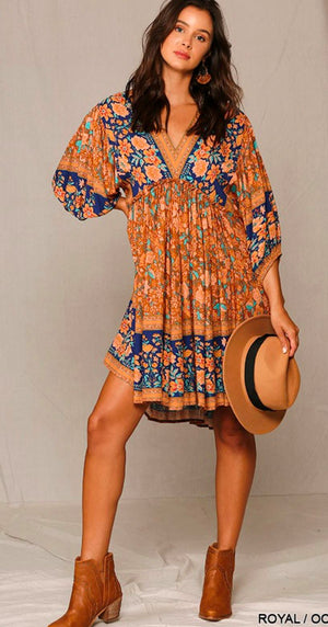 Boho Chic Swing Dress Gigio