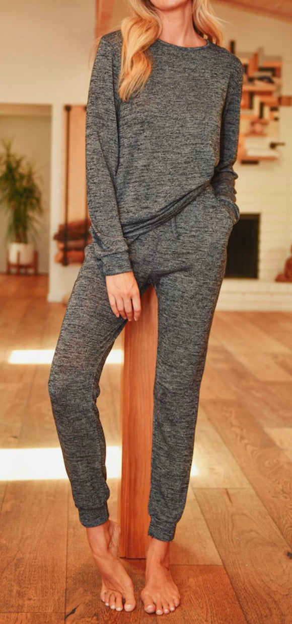 Charcoal Jogger Set Kimberly C
