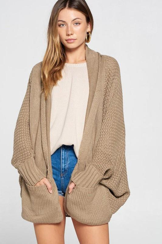 Chunky Cardigan Cardigan Davi and Dani