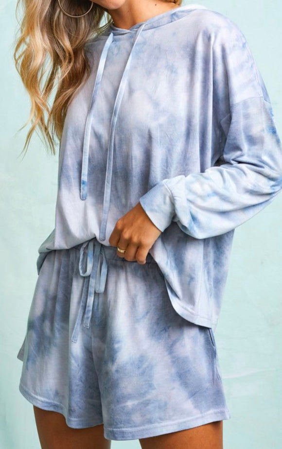 Cloud Tie Dye Lounge Set LA MIEL
