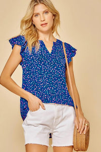 Confetti Flutter Sleeve tops andree by unit
