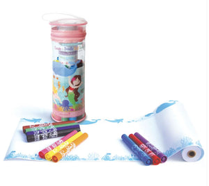 Create and Doodle Travel Set Accessory The Piggy Story Magical Mermaids