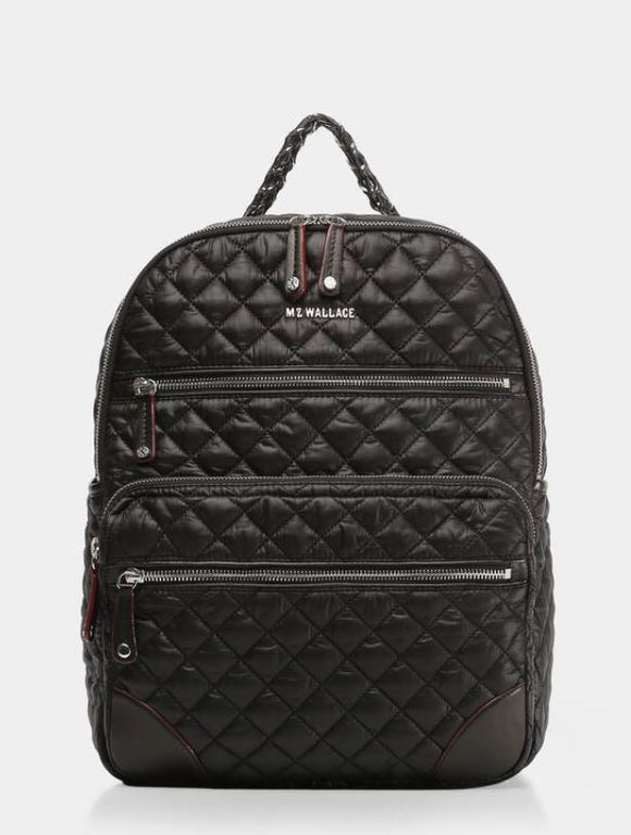 Crosby Backpack Black MZ Wallace