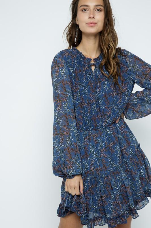Fall Floral Dress Dress &merci