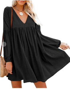 Gauzy L/S Dress Aly Daly