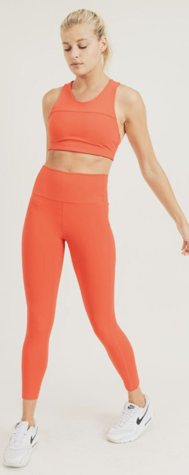 High Waist Pocket Legging Mono B