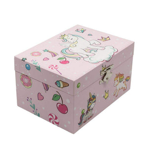 Jewelry Box with Drawer Gifts Chanteur Unicorn