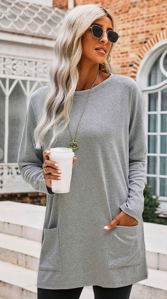L/S Pocket Top Shewin