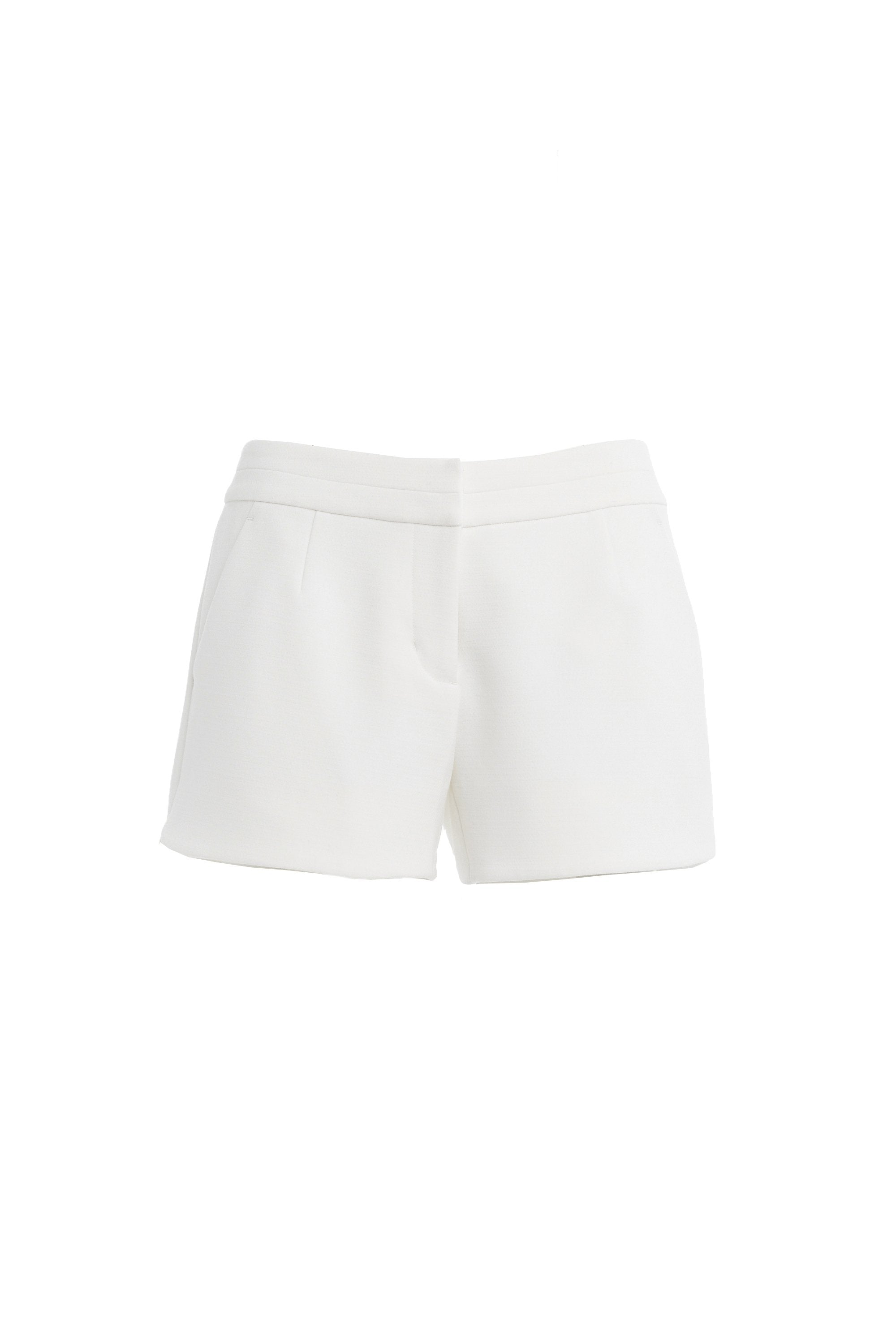 Murray Short in White Shorts Crosby by Mollie Burch
