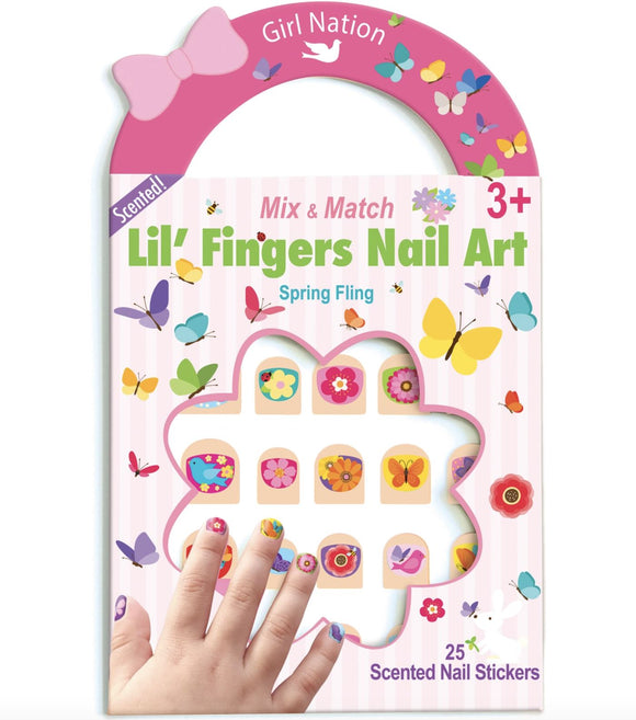 Spring Nail Packs The Piggy Story