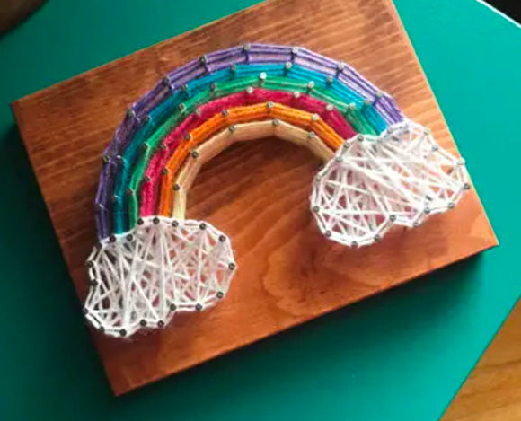 String Art Kit Strung