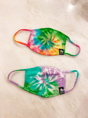 Tie Dye Mask SNAP-Something New And Pretty