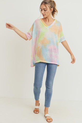 Image of Tie Dye Tunic Sweater Sweater Cherish