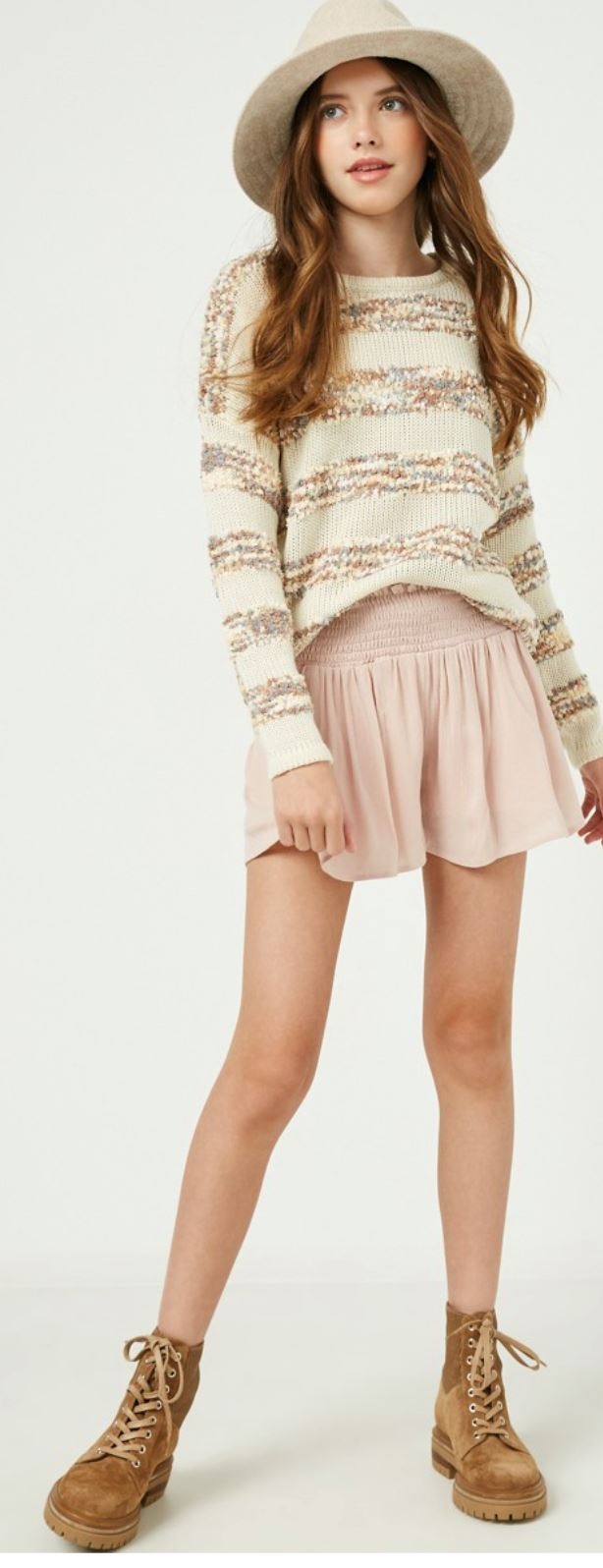 Tween Smocked Shorts SNAP-Something New And Pretty