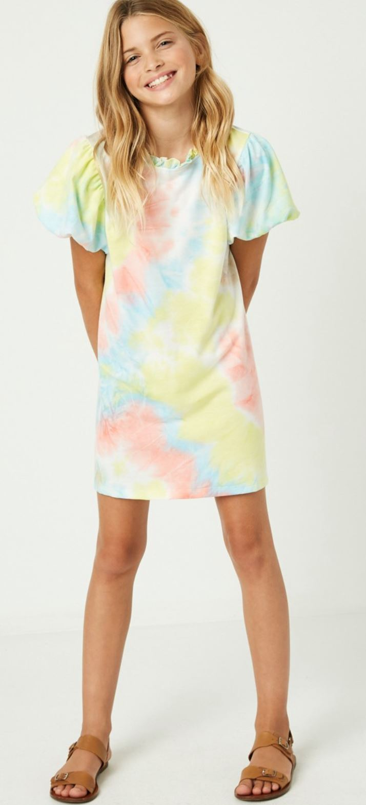 Tween Tie Dye Dress Hayden Los Angeles