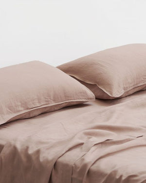 LINEN SHEET SET - QUEEN