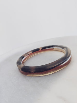 SQUARE RESIN BANGLE
