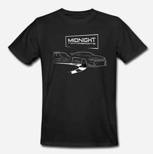 Load image into Gallery viewer, Double Sided Short Sleeve T-Shirt MIDNIGHT MOTORSPORTS - FAST DRIVER/APEX -