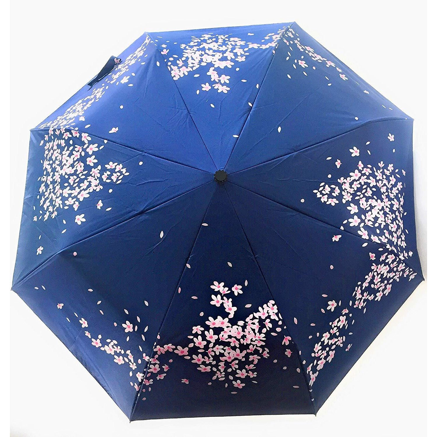 XIANGNAIZUI Quality Folding Umbrella for Women Brand Travel Anti-UV Windproof Rain Flower Female Sun Girl Parasol Pocket Umbrellas Color : 33533 Pink