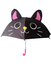 Load image into Gallery viewer, kids umbrella black cat umbrella girls umbrella for kids