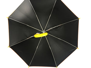 Underneath kids UV umbrella