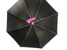 Load image into Gallery viewer, underside of kids umbrella with uv protection
