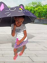 Load image into Gallery viewer, girl holding umbrella outdoors outside