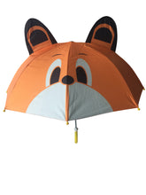Load image into Gallery viewer, kids umbrella brown bear umbrella boys umbrella for kids