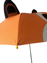 Load image into Gallery viewer, tip of kids umbrella brown bear umbrella boys umbrella for kids