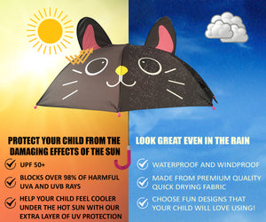 Benefits of UV umbrella for kids in the sun and the rain