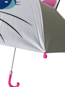 tip of kids umbrella white cat umbrella girls umbrella for kids