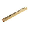 Gold Plated Striped Effect Tie Clip