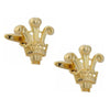 Prince of Wales Gold Plated Cufflinks
