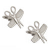Comb and Scissors Cufflinks