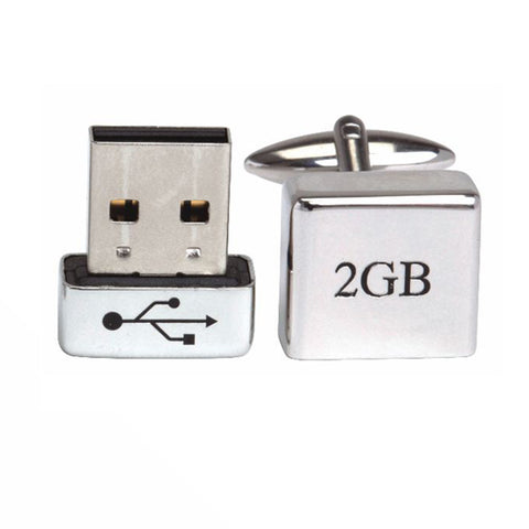 Working 2GB USB Cufflinks