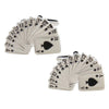 Fan of Playing Cards Cufflinks