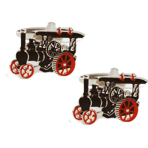Traction Engine Cufflinks