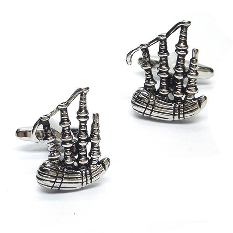 Scottish Bagpipe Cufflinks