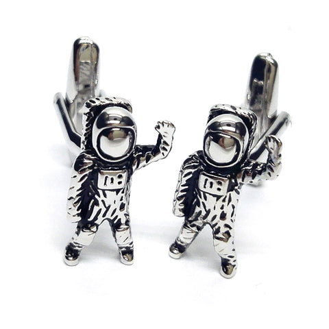 Astronaut Spaceman Cufflinks