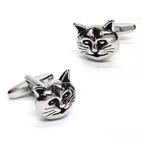 Cats Face Cufflinks