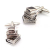 Pile of Books Cufflinks