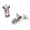 Rhino Head Cufflinks